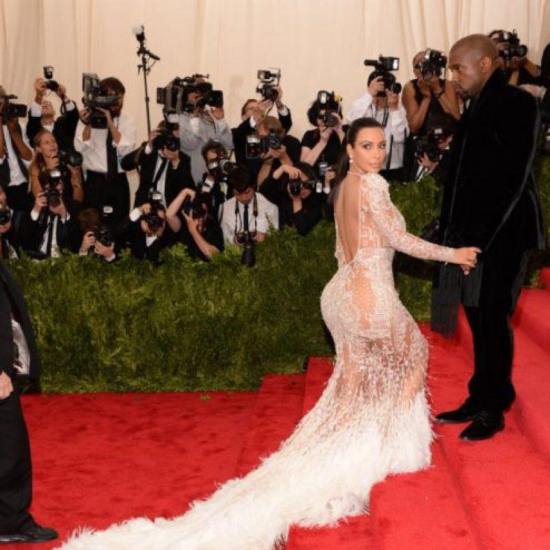 Y lo peor: alguien llevó su vestido antes. Foto:vía Getty Images