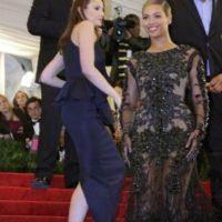 Fue Beyonce, en la misma gala en 2012. Foto:vía Getty Images
