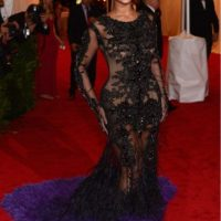 Este, irónicamente, la colocó entre las mejores vestidas. Foto:vía Getty Images