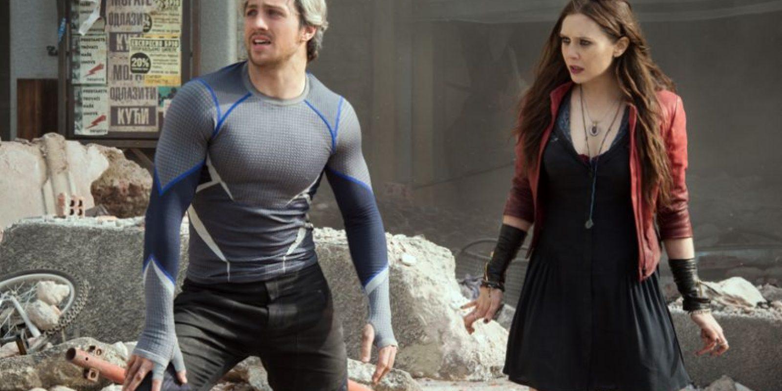 """En la película también se verá a """"Quicksilver"""" y a """"La Bruja Escarlata"""" en una historia desarrollada basada en el Universo """"Ultimate"""" por Jos Whedon. Foto:vía Marvel"""