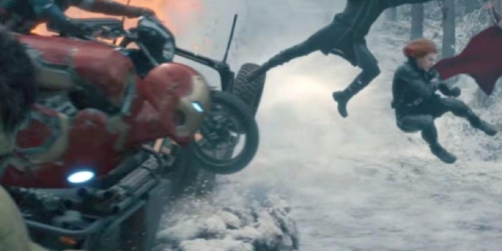 """También verán qué le pasó a """"Nick Fury"""" en estas dos producciones y por qué aparece como aparece en la película. Foto:vía Marvel"""