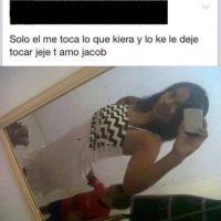 """La """"atrevida"""". Foto:vía Facebook"""
