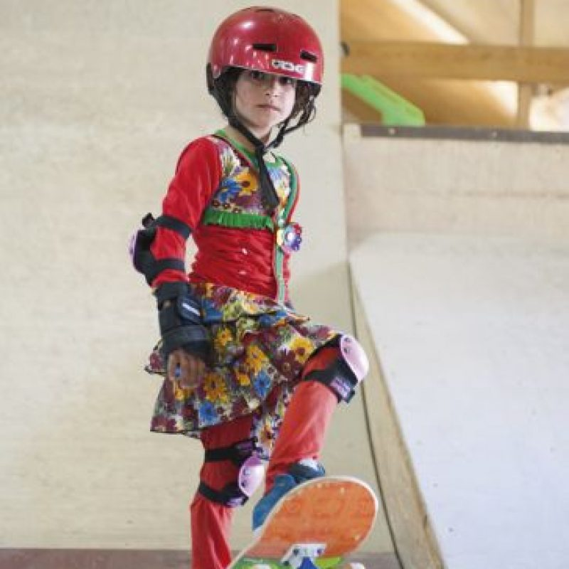 Skateistan, es una ONG, con sede en Kabul Foto:Jessica Fulford-Dobson