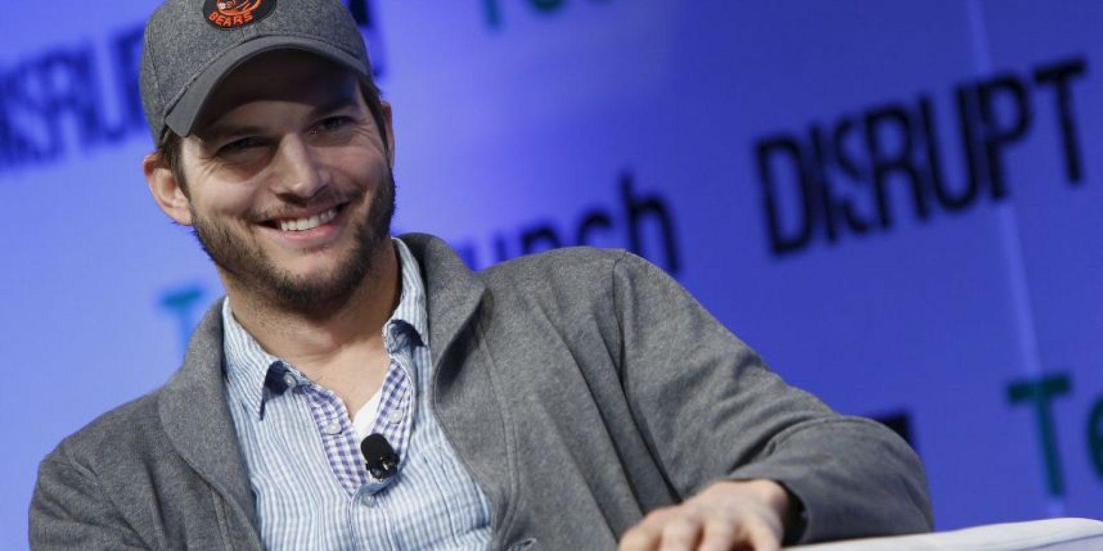 """En 2013 protagonizó la película """"Jobs"""" interpretando a Steve Jobs. Foto:Getty Images"""