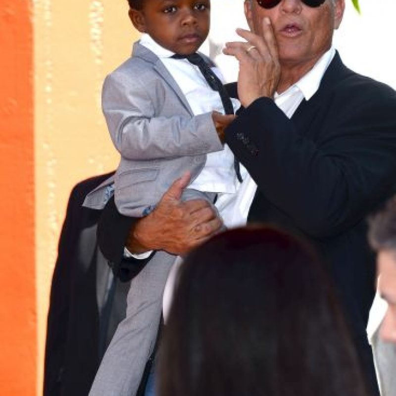 Hijo adoptivo: Louis Bardo Bullock. Foto: Getty Images