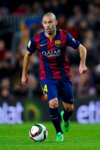Javier Mascherano jugará en la defensa central Foto: Getty Images