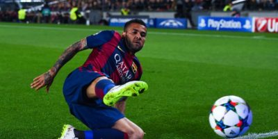 Dani Alves defenderá la banda derecha. Foto: Getty Images