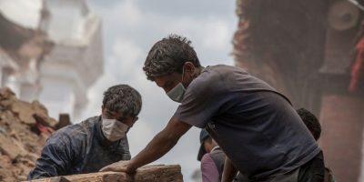 4. El Gobierno nepalí ha indicado que el número de muertos puede llegar a las 10 mil personas. Foto:Getty Images