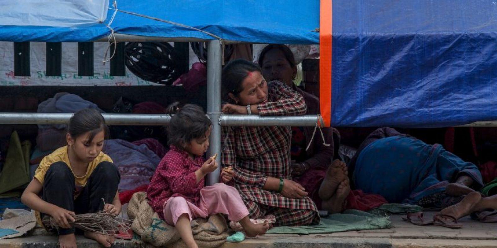 3. La cifra de muertos por el terremoto en Nepal asciende a siete mil 652 personas. Foto:Getty Images