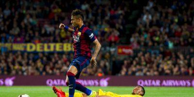 La tripleta ofensiva formada por: Neymar Foto:Getty Images
