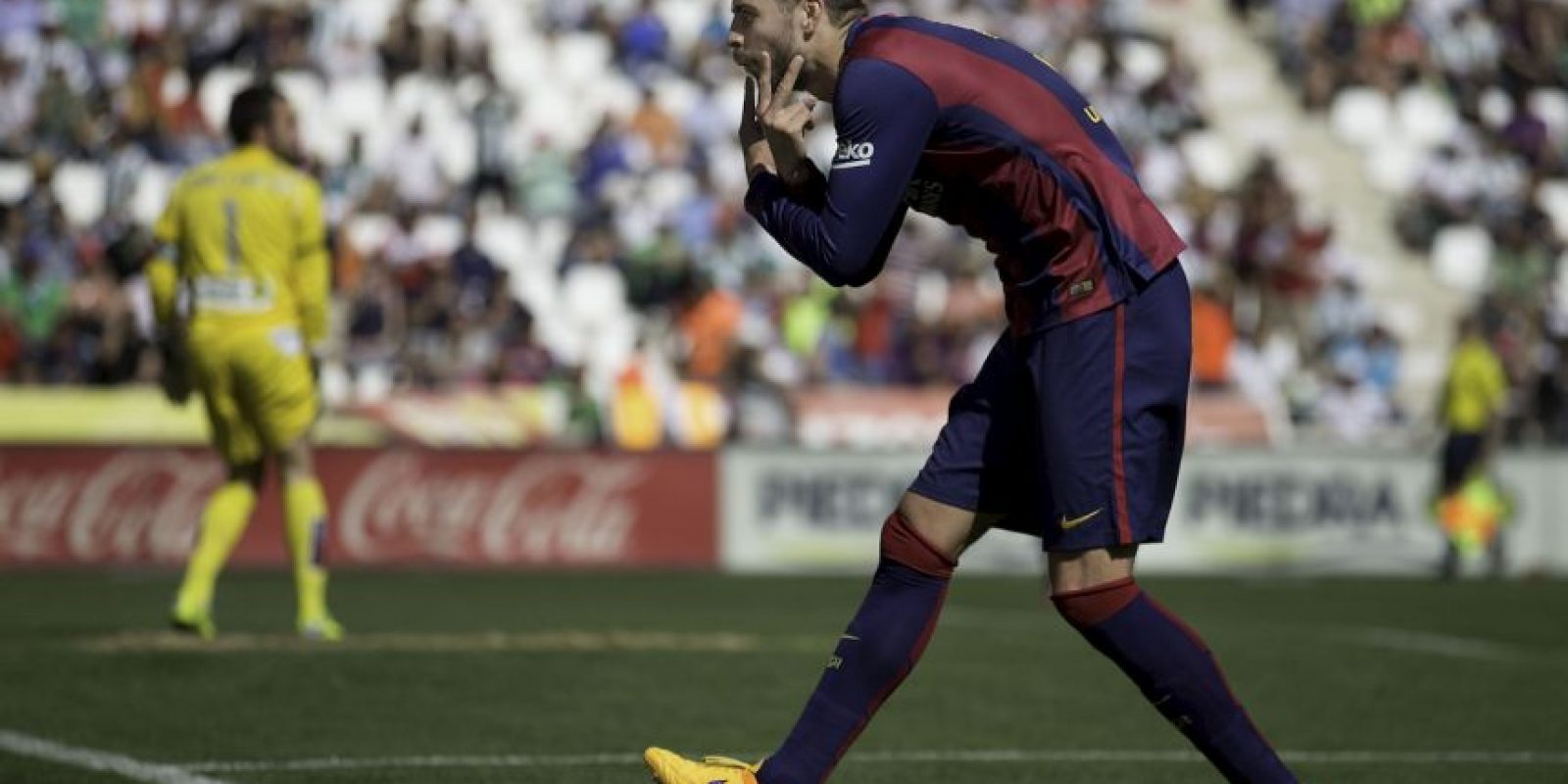 La zaga defensiva está liderada por Gerard Pique Foto: Getty Images