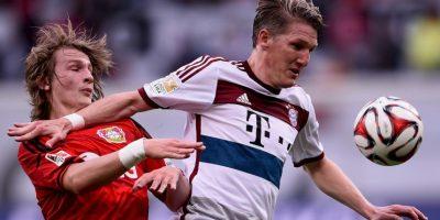 Bastian Schweinsteiger es el dueño de la banda izquierda Foto:Getty Images