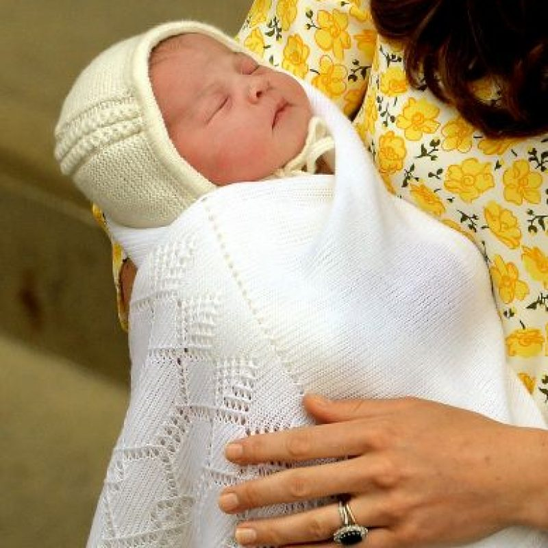 La princesa nació en el hospital St. Mary's de Londres. Foto:Getty Images