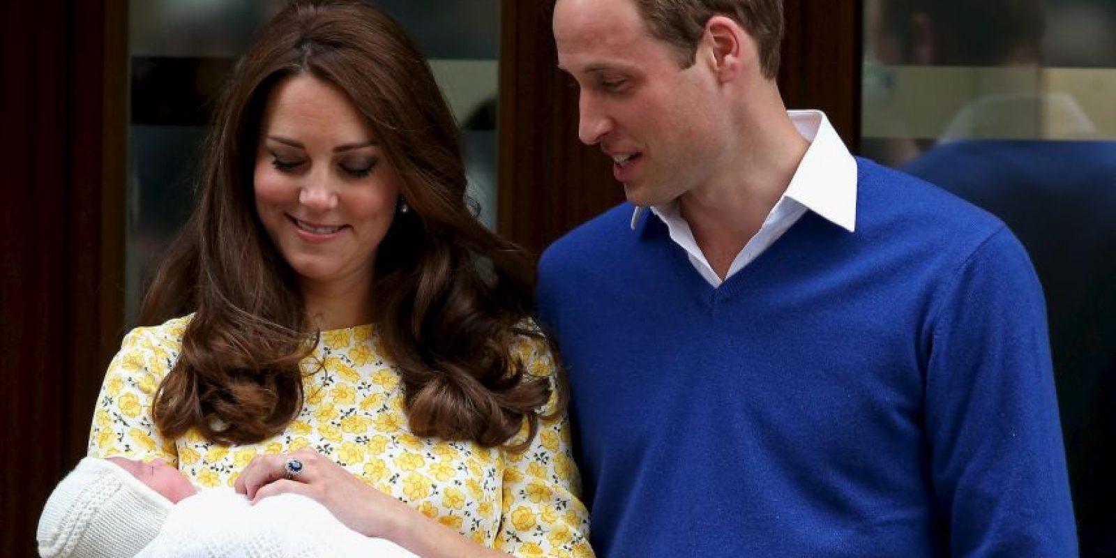 La princesa Carlota Isabel Diana nació el sábado, 2 de mayo. Foto:Getty Images