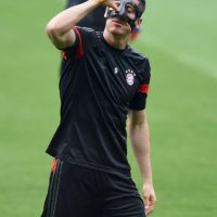 Y Robert Lewandowski forman el tridente ofensivo Foto: Getty Images
