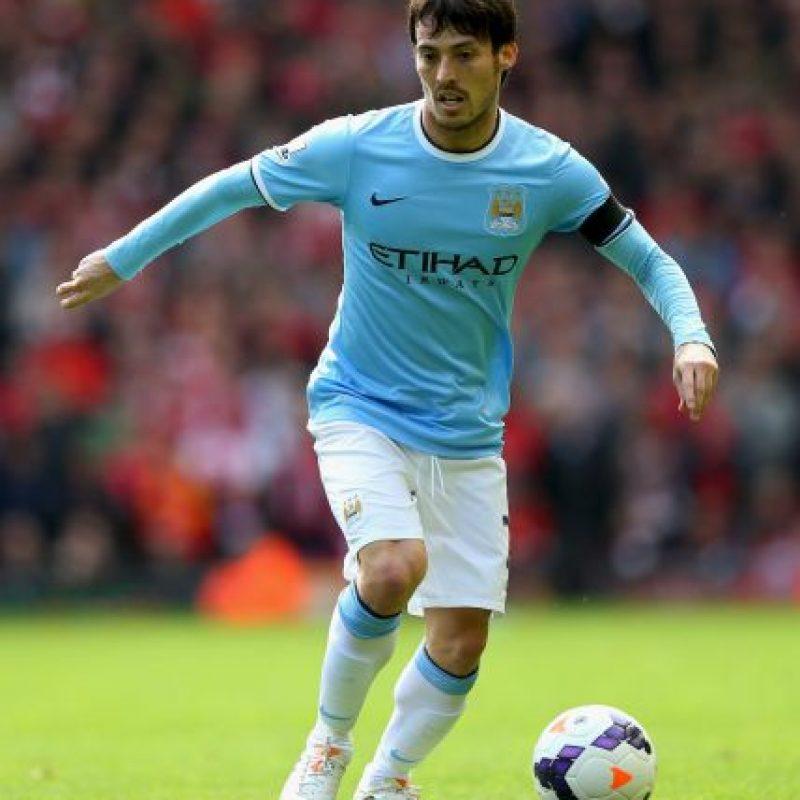 """Lleva cinco temporadas con los """"Citizens"""" en las cuales ha disputado 201 partidos y marcado 32 goles. Foto:Getty Images"""