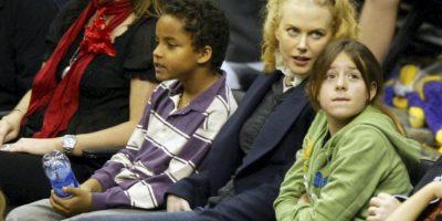 Adoptó a Isabella Jane y Connor Antony. Isabel, nació el 22 de diciembre de 1992, y Connor, el 17 de enero de 1995 Foto:Getty Images
