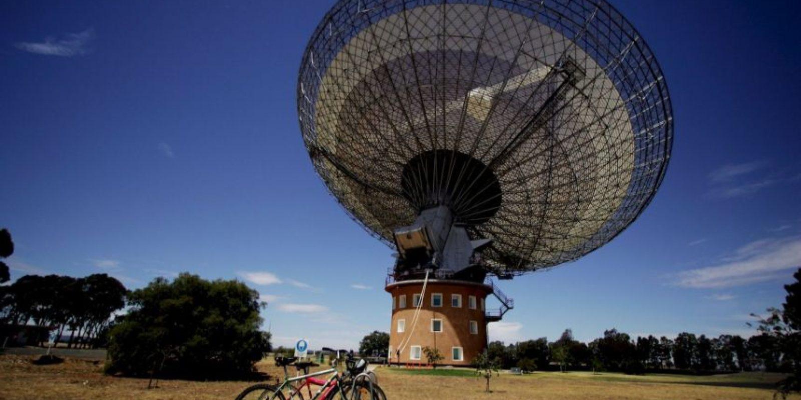 El Observatorio Parkes, es un observatorio radiotelescopio, situado a 20 kilómetros al norte de la ciudad de Parkes, Australia. Foto:Getty Images