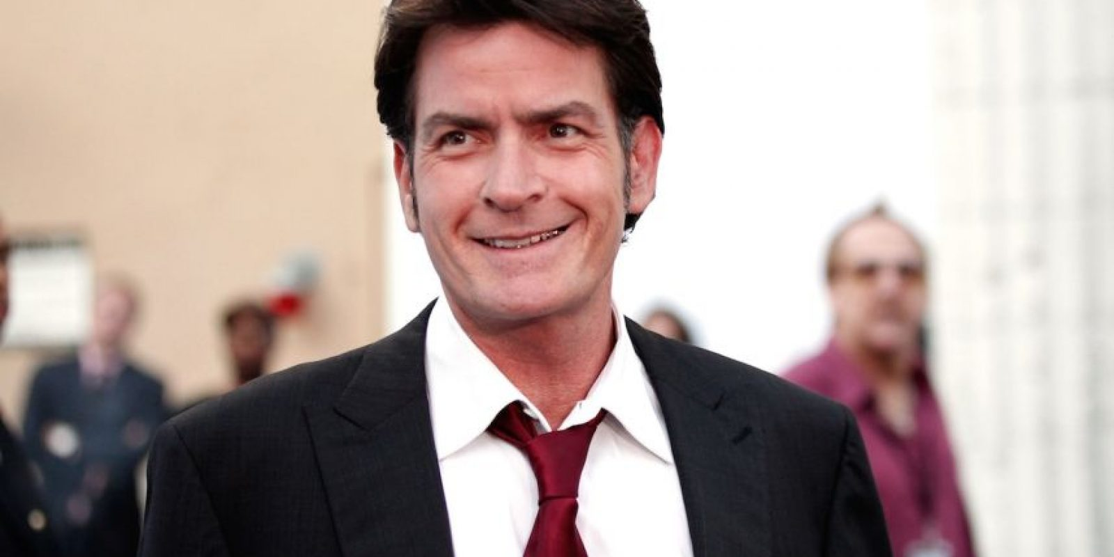 Charlie Sheen y Donna Peele: 5 meses Foto:Getty Images