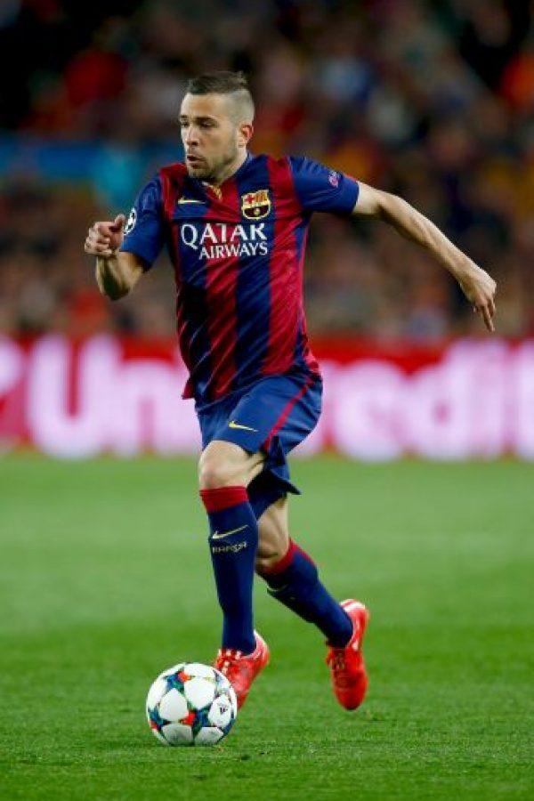 Jordi Alba será el lateral izquierdo Foto:Getty Images