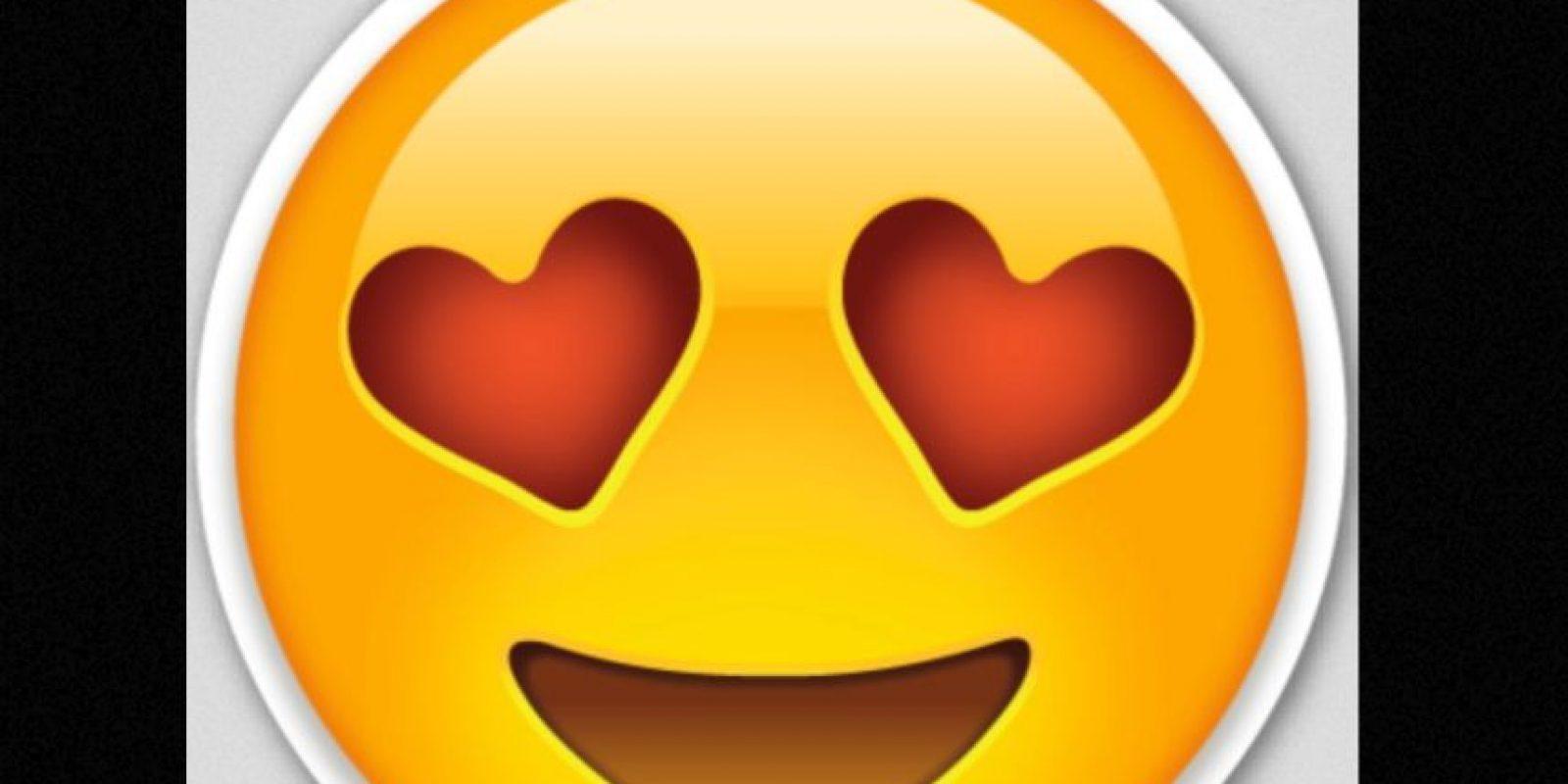 Caras de amor Foto:Emojipedia