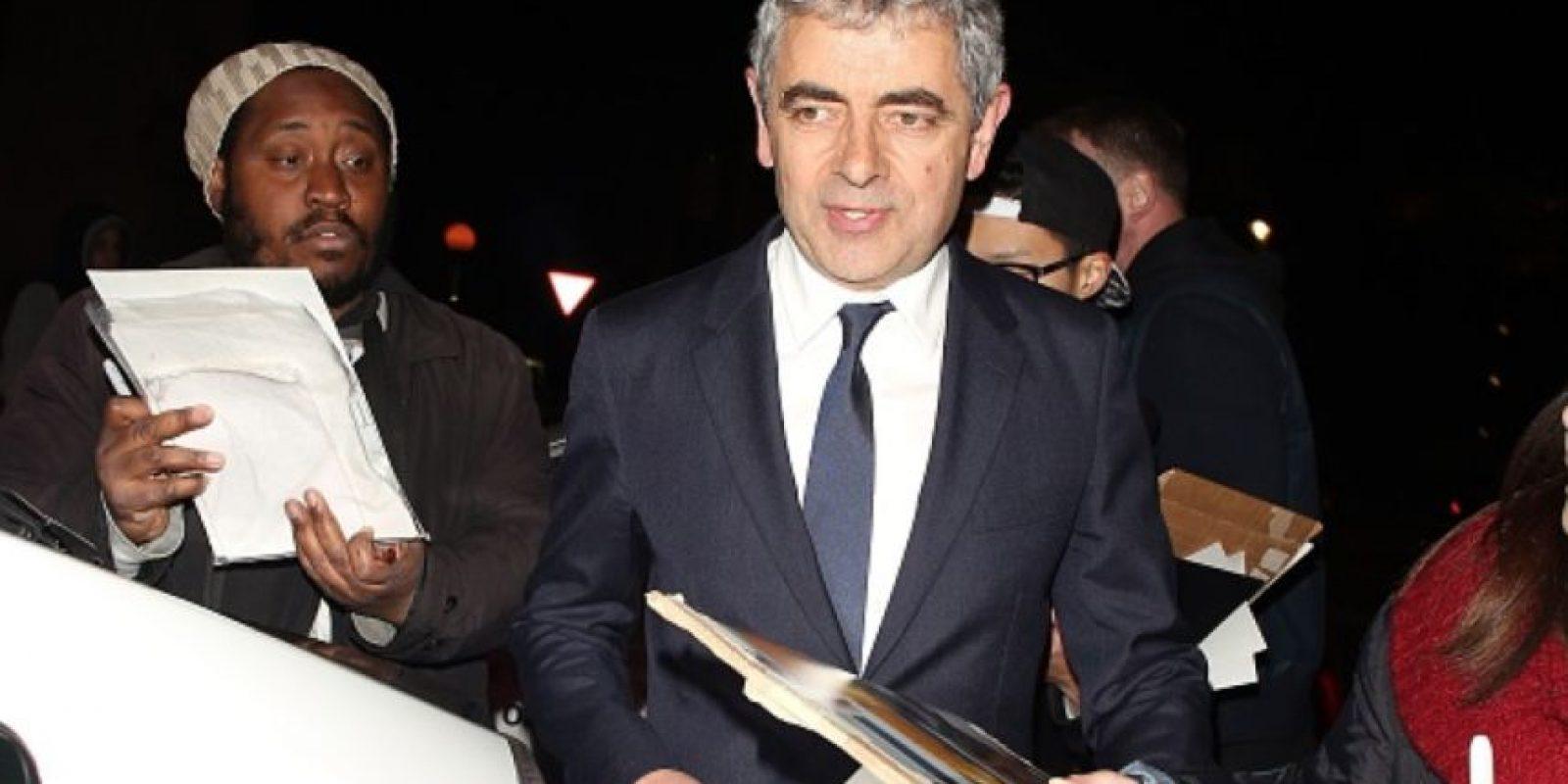 """Aparte de la popularidad que tiene con """"Mr. Bean"""", Atkinson ha interpretado a """"Johnny English"""", un torpe espía británico. En los Juegos Olímpicos de 2012 se le volvió a ver como """"Bean"""". Foto:vía Getty Images"""