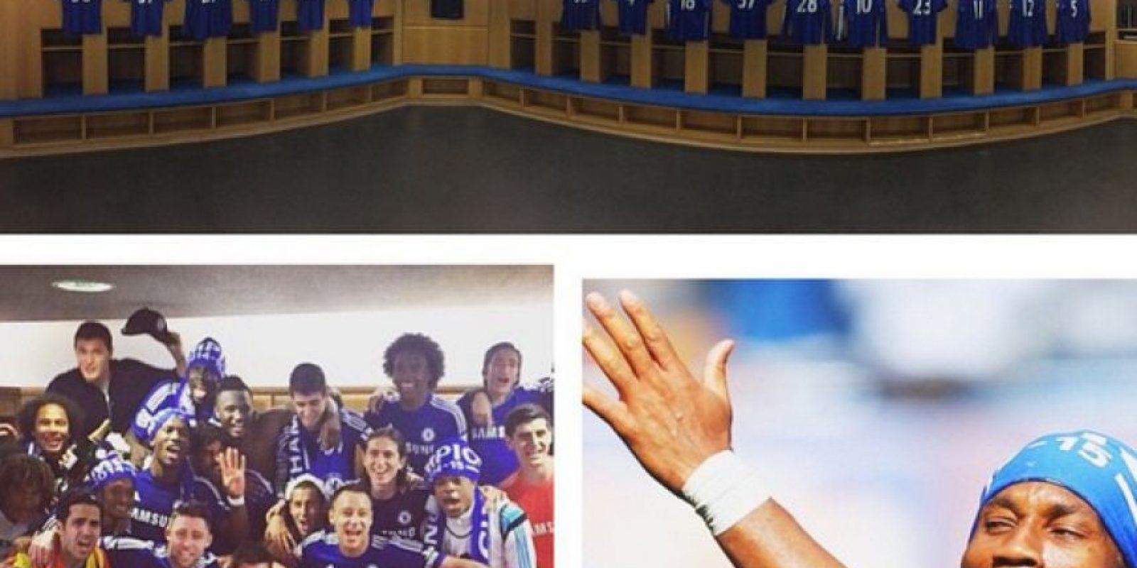 """""""Bienvenidos a la casa del Campeón de la Premier League 2014/2015"""", escribió el marfileño Didier Drogba en su Instagram. Foto:Vía instagram.com/garyjcahill"""
