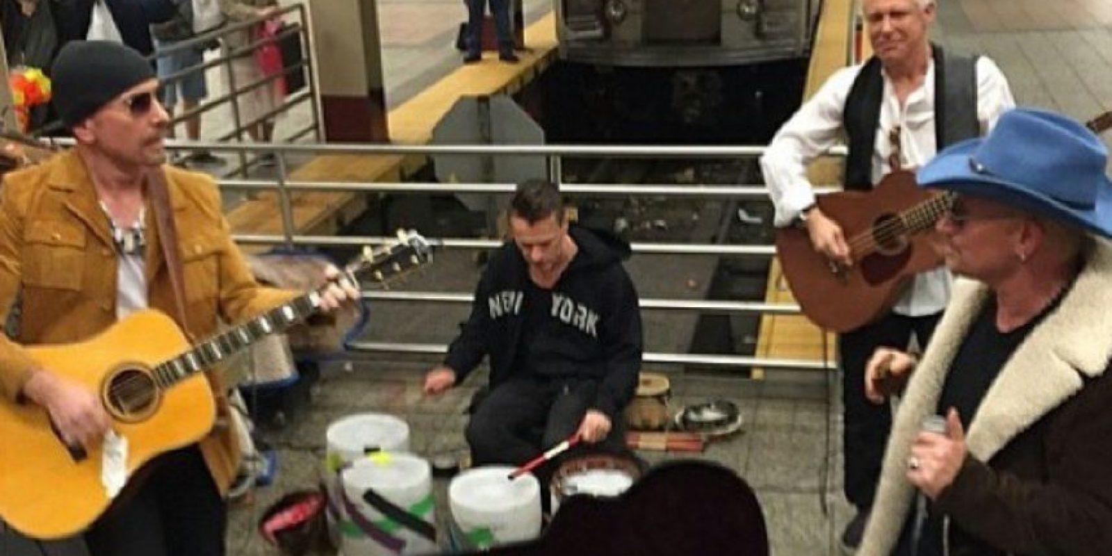 Dieron un concierto sorpresa en Nueva York. Foto:vía Instagram