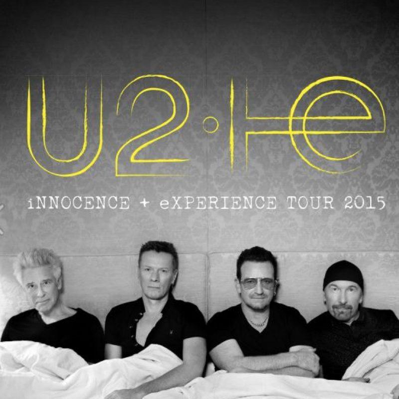 Su tour por Estados Unidos y Europa de este año. Foto:vía Facebook/U2