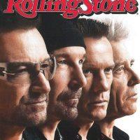 """Portada en la revista """"Rolling Stone"""" en 2014. Foto:vía Facebook/U2"""