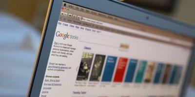 El gigante buscador siempre ha pensado en los libros. Google Books es el apartado especial para la búsqueda de títulos en línea Foto:Getty Images