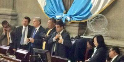 Congreso elige comisión para investigar a Baldetti