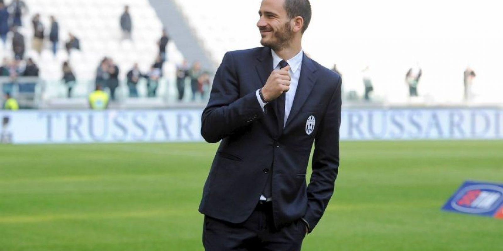 """La casa italiana """"Trussardi"""" es la encargada de que los jugadores """"bianconeros"""" siempre luzcan impecables. Foto:juventus.com"""