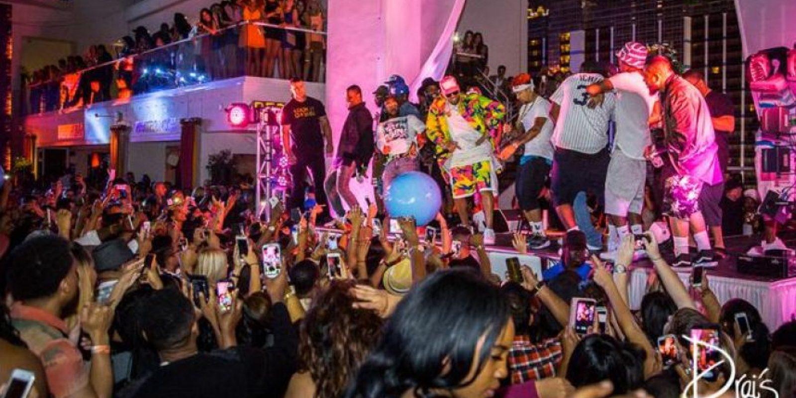"""""""He establecido el modelo de mostrar cómo los combatientes deben llevar a cabo su negocio"""". Foto:draisnightlife.com"""