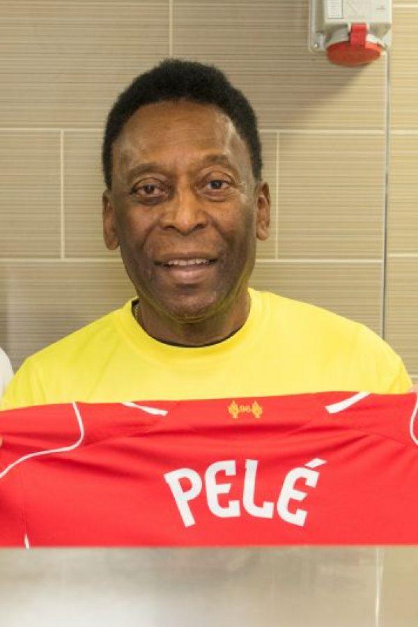 """El astro brasileño Edson Arantes Do Nascimento, mejor conocido como """"Pelé"""", volvió a ser internado en un hospital de Sao Paulo por problemas renales. Foto:Getty Images"""