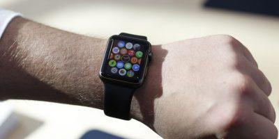 Así luce el Apple Watch en la muñeca. Foto:Getty Images