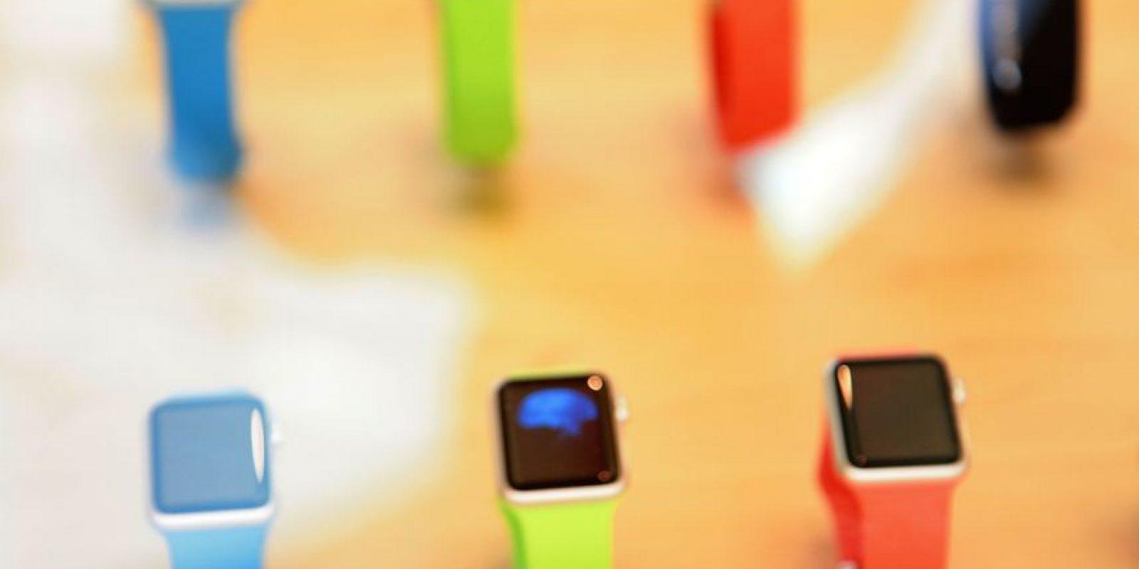 Apple Watch Sport fue el modelo seleccionado para saber cuánto resiste a las caídas. Foto:Getty Images