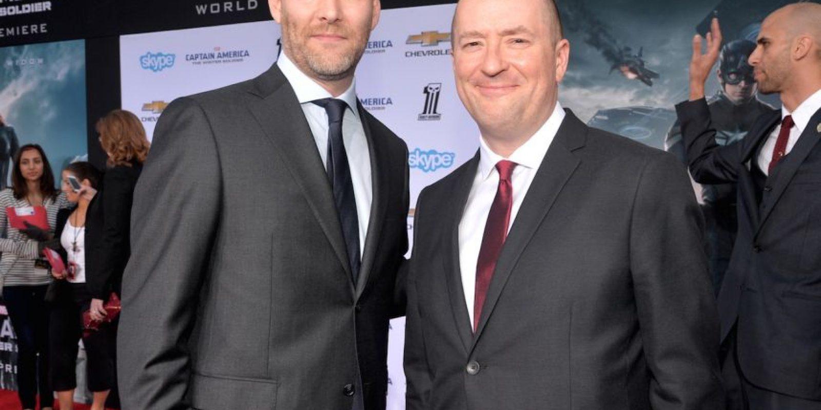 """Christopher Markus y Stephen McFeely serán los encargados de escribir la historia de """"Avengers: Infinity War"""" Foto:Getty Images"""