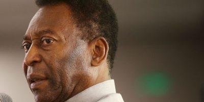 """De acuerdo con """"O'Globo"""" o """"Estado"""", durante su época como futbolista, a Pelé le extirparon un riñón, pero nunca quiso que la información se hiciera pública. Foto:Getty Images"""