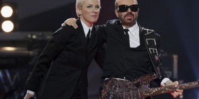 Y con Eurythmics Foto: Getty Images