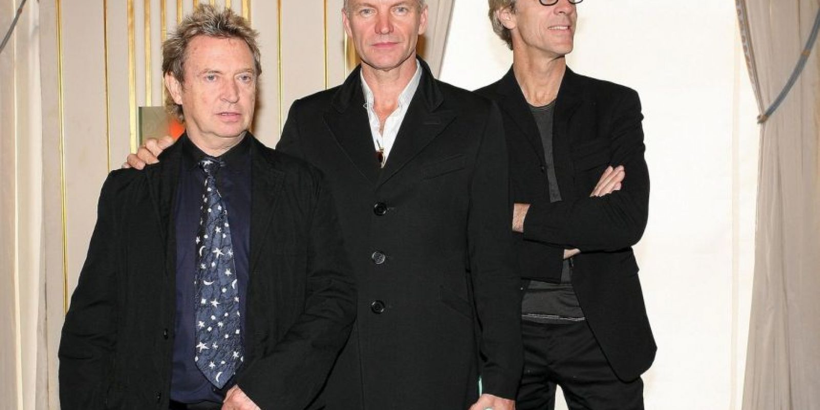 Seguida de la banda The Police. Foto: Getty Images