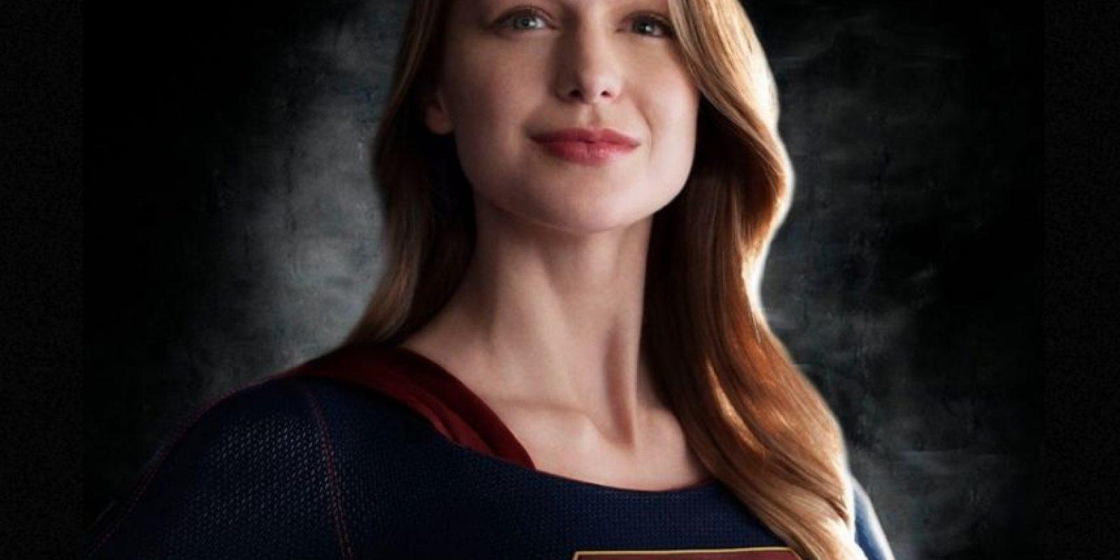 "Melissa Benoist interpreta a ""Supergirl"" Foto:Vía Twitter.com/CBS"