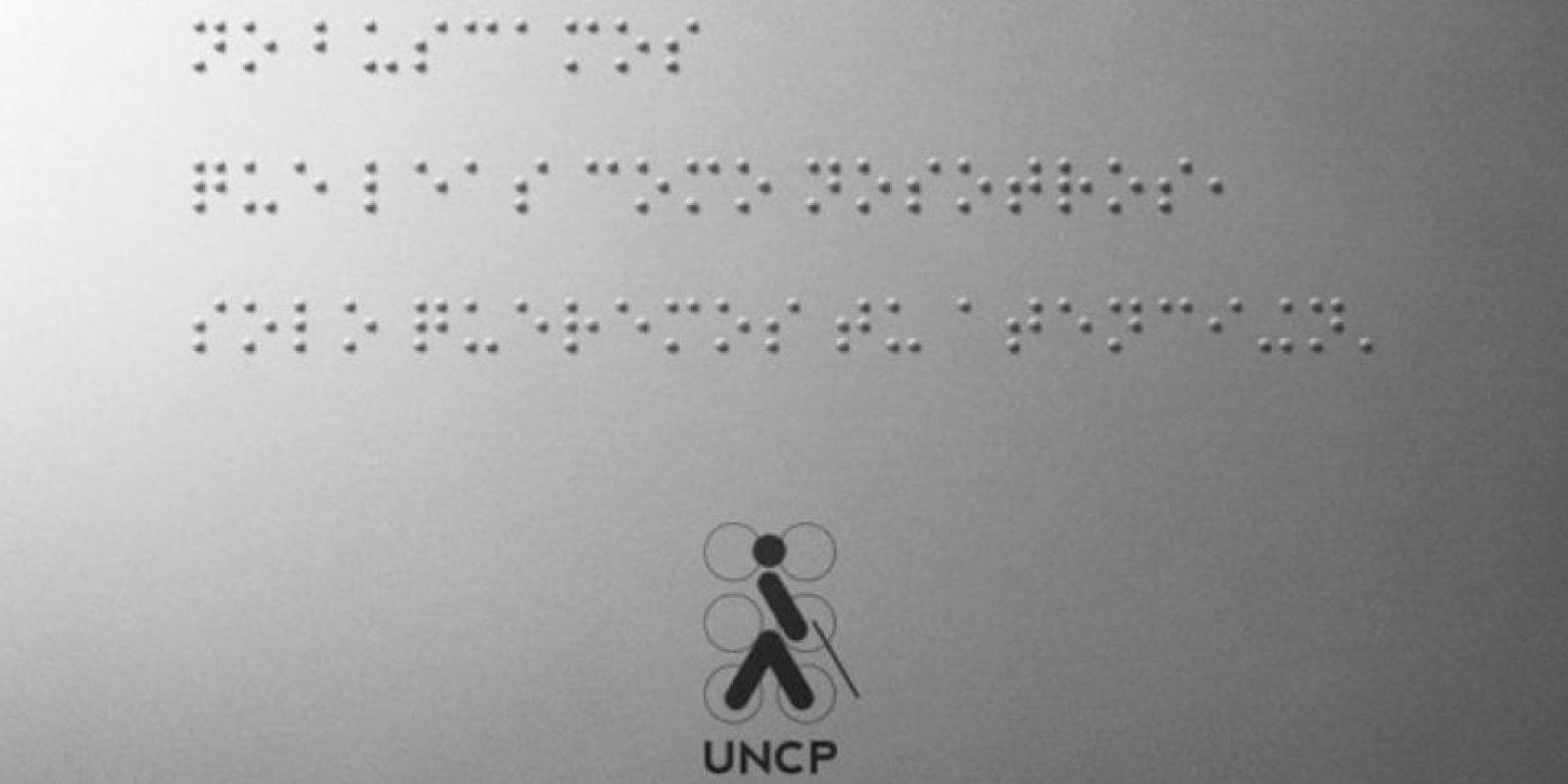 """En 2014 se escribió el primer post en braile en la red social, mismo que fue creado por la Unión Nacional de Ciegos del Perú (UNCP). Decía: """"No buscamos que leas como nosotros, solo queremos tu atención"""". Foto:Unión Nacional de Ciegos del Perú (UNCP)"""