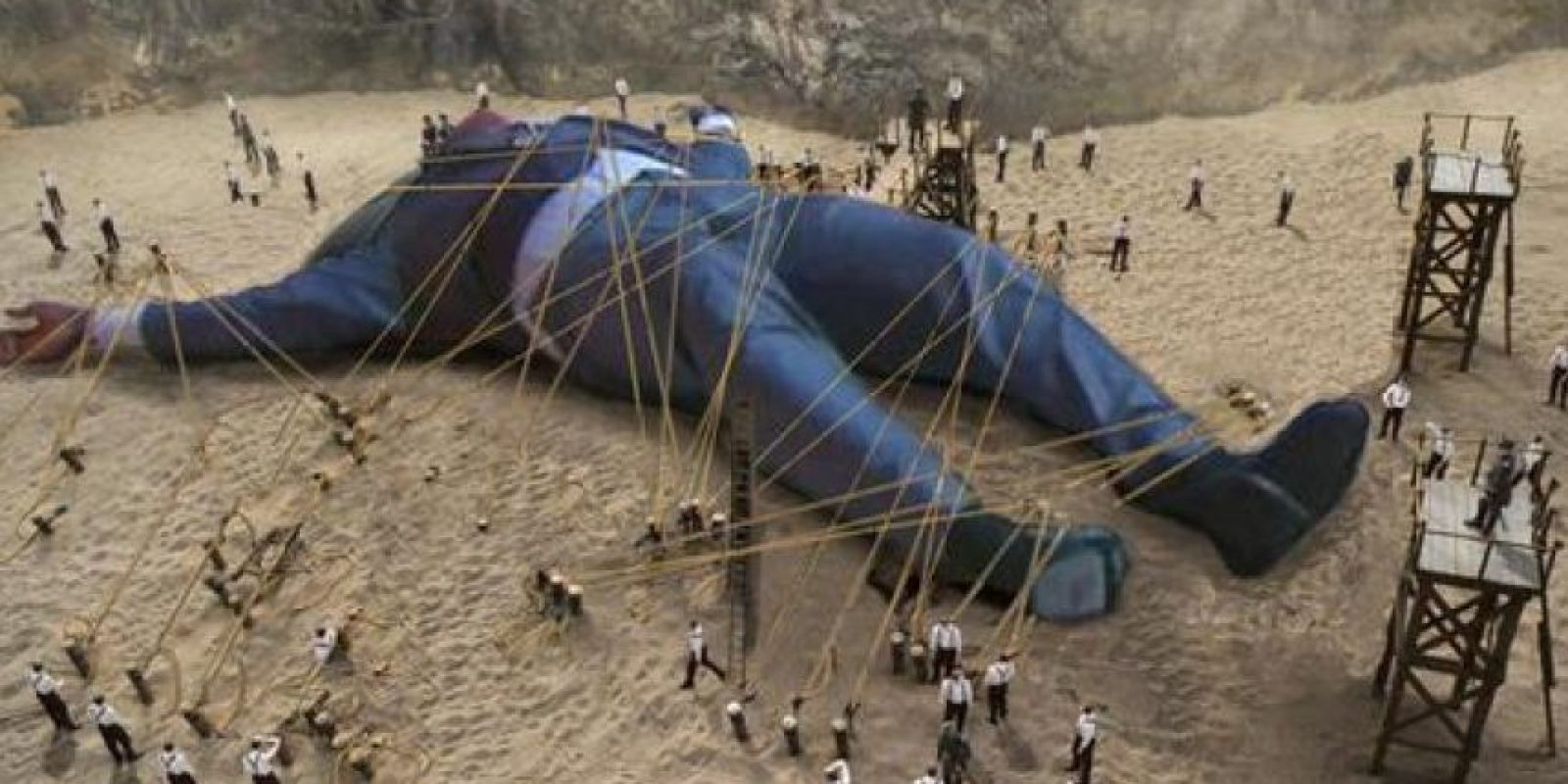 """Versión """"Los Viajes de Gulliver"""". Foto:Vía twitter.com"""