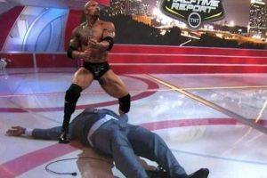 """Derrotado por el actor y luchador Dwayne Johnson, """"The Rock"""". Foto:Vía twitter.com"""