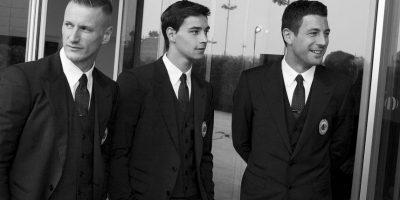 "La prestigiada casa de modas italiana ""Dolce & Gabbana"" viste a los ""Rossoneris"". Foto:dolcegabbana.com/ac-milan"