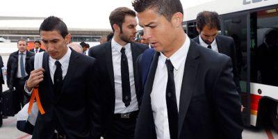 """Los """"Merengues"""" se pusieron en manos de la firma italiana """"Versace"""" para lucir siempre elegantes. Foto:realmadrid.com"""