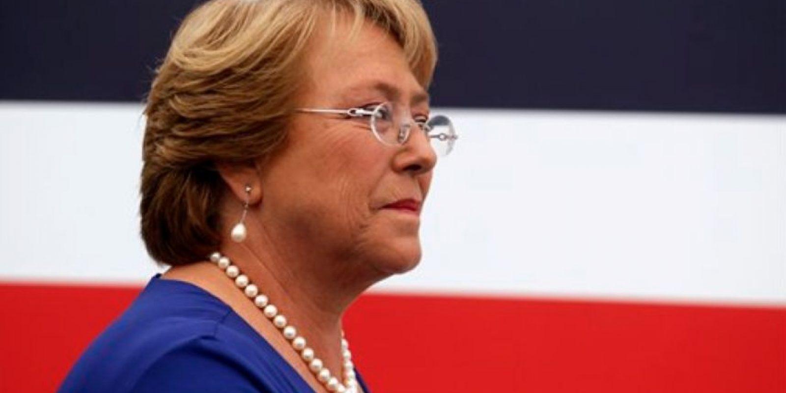 La presidenta de Chile, Michelle Bachelet Foto:vía AP