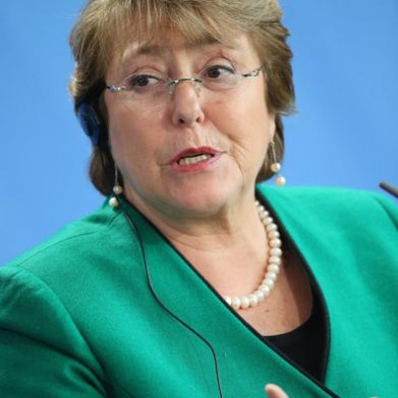 La presidenta de Chile, Michelle Bachelet Foto: vía Getty Images