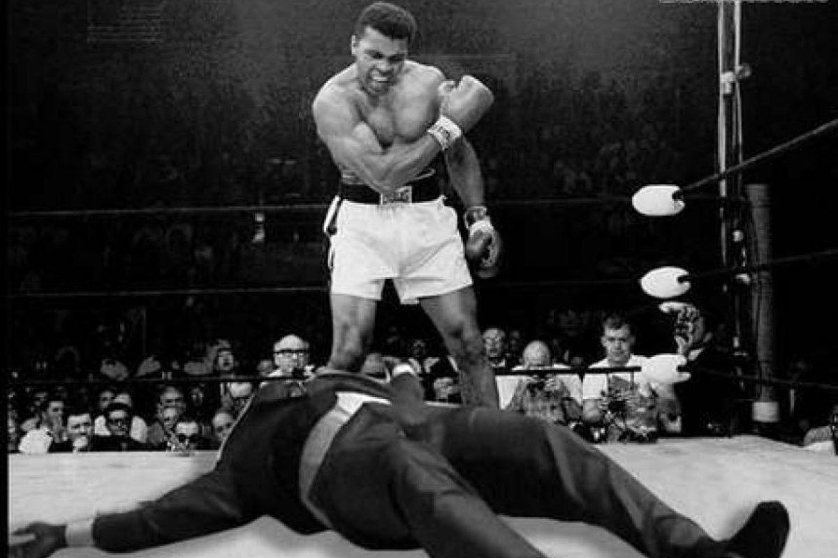 """Shaq"" fue una víctima más de Muhammad Ali. Foto:Vía twitter.com"